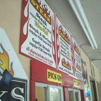 Photo taken at Blazin Steaks by Squide E. on 5/18/2011