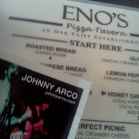 Photo taken at Eno's Pizza Tavern by Johnny A. on 8/28/2012