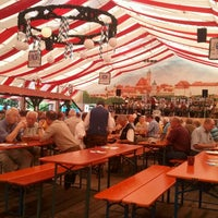 Photo taken at Volksfestplatz Günzburg by Bruno R. on 8/19/2012