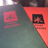 Photo taken at Thai Season by Romna B. on 6/27/2012