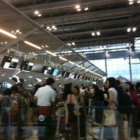 """Photo taken at Check-In Row """"W"""" by Ju K. on 7/15/2011"""