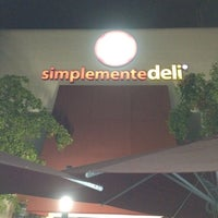 Photo taken at Simplemente Deli by DA M. on 12/30/2011