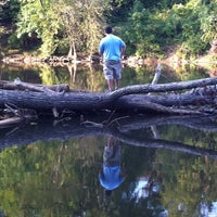 Photo taken at Haw River by Laura C. on 8/28/2011
