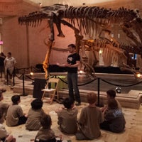 Photo taken at Dinosaur Hall by Jack D. on 4/22/2012