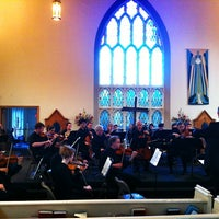 Photo taken at Little Trinity Anglican Church by Noella C. on 5/10/2012