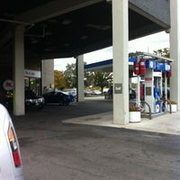 Photo taken at Mobil by John C. on 10/12/2011