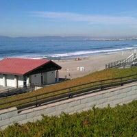 Photo taken at Torrance Beach by Roya B. on 1/27/2012