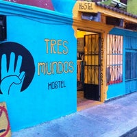 Photo taken at Hostel Tres Mundos by Sébastien R. on 2/10/2012