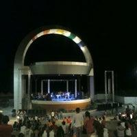 Photo taken at Anfiteatro da Ponta Negra by Jessica M. on 6/4/2012