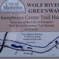 Photo taken at Wolf River Greenway by Adam D. on 8/27/2012