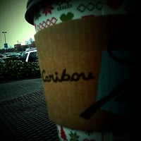 Photo taken at Caribou Coffee by Manny F. on 1/20/2012