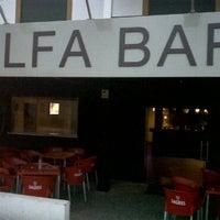 Photo taken at Alfa bar by João M. on 5/1/2011