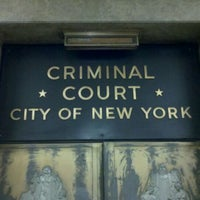 Photo taken at New York City Criminal Court by Carolyn B. on 6/4/2011