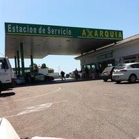 Photo taken at Estacion De Servicio Axarquia by Charo C. on 8/13/2011