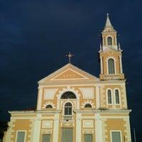 Photo taken at Igreja São Frei Pedro Gonçalves by Agnes Pauli P. on 7/4/2011