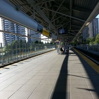 Photo taken at Lougheed Town Centre SkyTrain Station by BeA K. on 8/28/2012