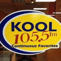 Photo taken at KOOL 105.5 Studios by Kate N. on 2/24/2012