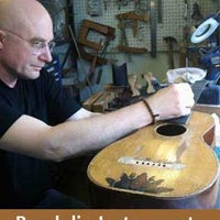 Photo taken at Randolin Music Store and Guitar Repair by Nowa C. on 4/4/2012