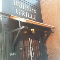 Photo taken at Hudson Grille by Anand T. on 4/7/2012