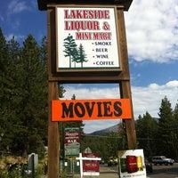 Photo taken at Lakeside Liquor & Mini Mart by Carolyn B. on 8/18/2012