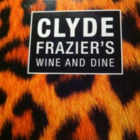 Photo taken at Clyde Frazier's Wine and Dine by James S. on 3/16/2012