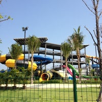 Photo taken at Black Mountain Waterpark by Liew N. on 3/17/2012