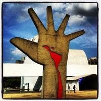Photo taken at Memorial da América Latina by Ricardo S. on 4/8/2012