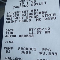 Photo taken at Sunoco by Sidney M. on 7/25/2012