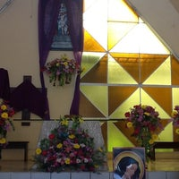 Photo taken at Capilla El Señor de los Milagros by Orizaba I. on 4/7/2012