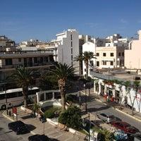 Photo taken at Mitzithras Hotel by Natalia on 5/7/2012