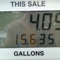 Photo taken at Shell by Adam S. on 6/28/2012