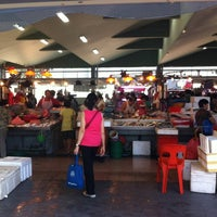 Photo taken at Marine Terrace Market & Food Centre by Paul M. on 3/24/2012
