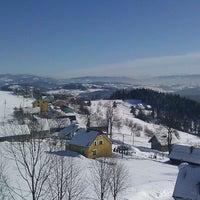 Photo taken at Karczma Ochodzita by Anna-Maria on 2/12/2012
