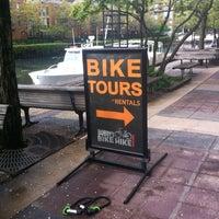 Photo taken at Bobby's Bike Hike by John M. on 4/15/2012