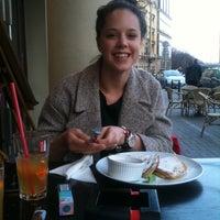 Photo taken at Café Szparka by Klaudia K. on 4/13/2012