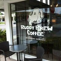 Photo taken at Buddy Brew Coffee by BRINK Magazine on 8/23/2012