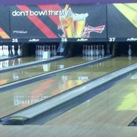Photo taken at AMF Gulf Gate Lanes by Jamie O. on 10/6/2011