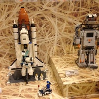 Photo taken at The LEGO Store by Jocelyn on 12/10/2011