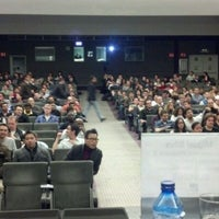 Photo taken at Fundacion Ramon Areces by Miguel S. on 2/1/2012