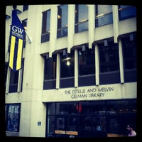 Photo taken at Estelle and Melvin Gelman Library by Liz on 8/22/2012