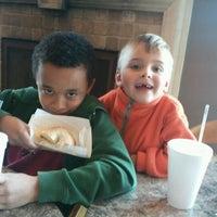 Photo taken at Bagel Cafe by Sean H. on 1/14/2012