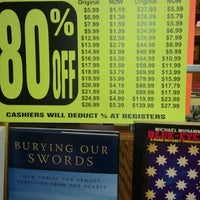 Photo taken at Borders by Shawn M. on 9/15/2011