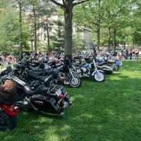 Photo taken at José de San Martin Memorial / Triangle Park by Benjamin F. on 5/28/2012