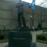 Photo taken at Jack Benny Plaza by Fredo A. on 12/12/2011