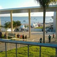 Photo taken at Anfiteatro da Ponta Negra by Rafaela S. on 5/27/2012