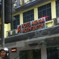 Photo taken at Arenaa Mountbatten Hotel by Mohd yus M. on 2/21/2012