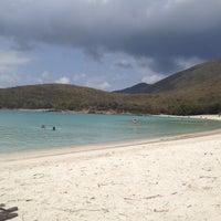 Photo taken at Salt Pond Bay by Sarah C. on 3/28/2012