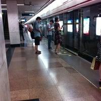 Photo taken at S. Huangpi Rd. Metro Stn. by John Y. on 8/10/2011