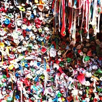 Photo taken at Gum Wall by Cody E. on 5/10/2012