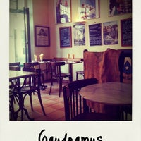 Photo taken at Gaudeamus by Na-Young K. on 8/6/2011